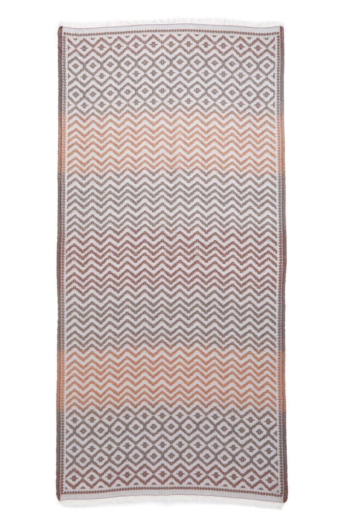 Alternate Image 2  - Echo Zigzag Jacquard Wrap