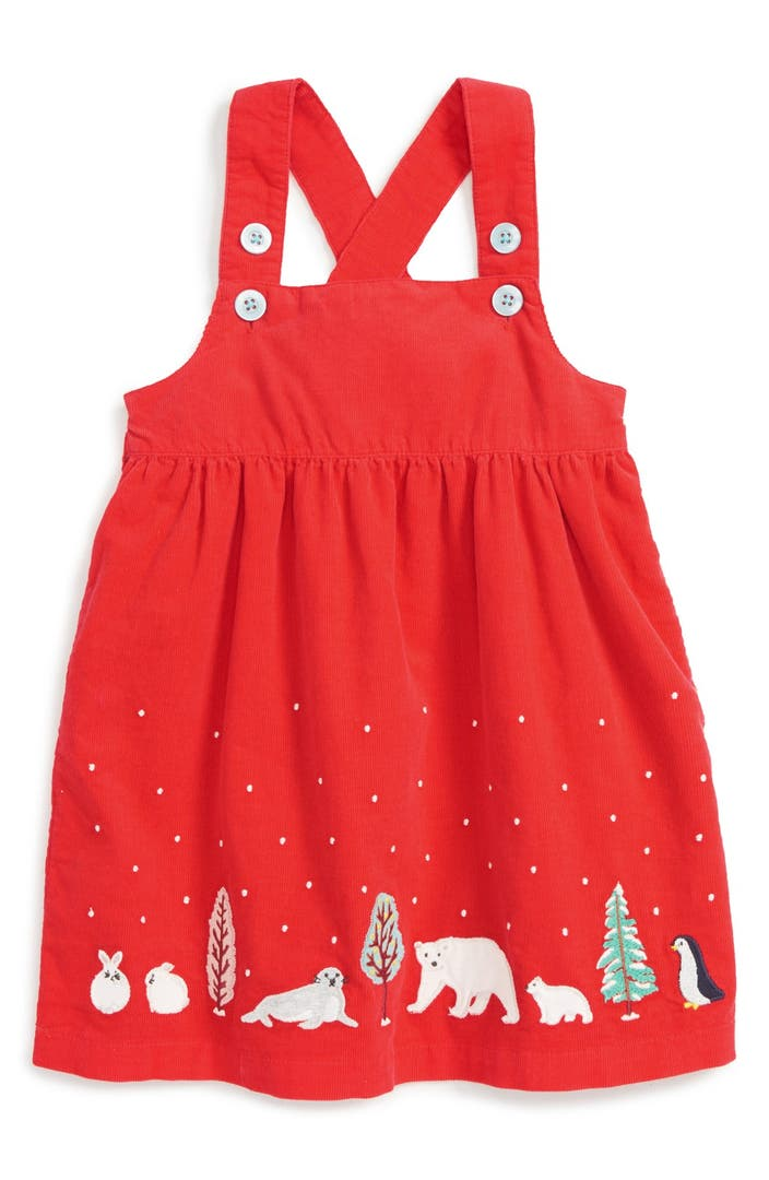 Mini boden winter friends corduroy dress baby girls for Mini boden winter 2016