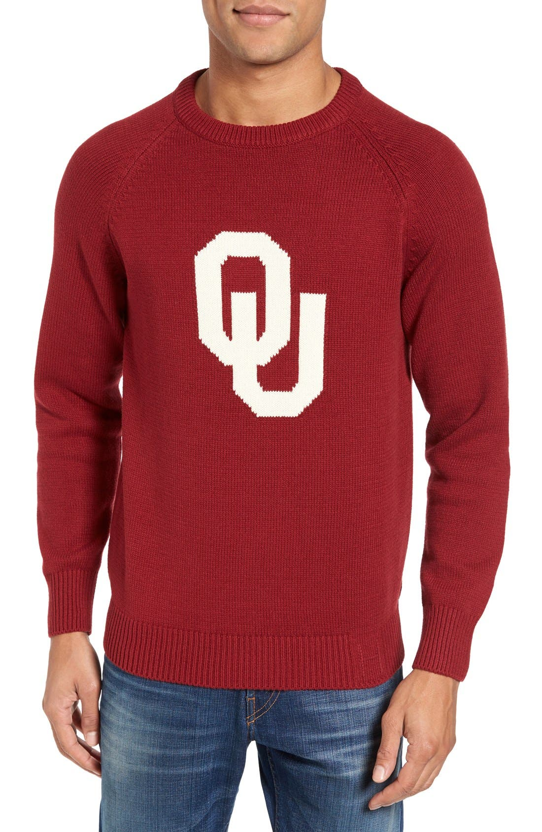 HILLFLINT Oklahoma University Heritage Sweater