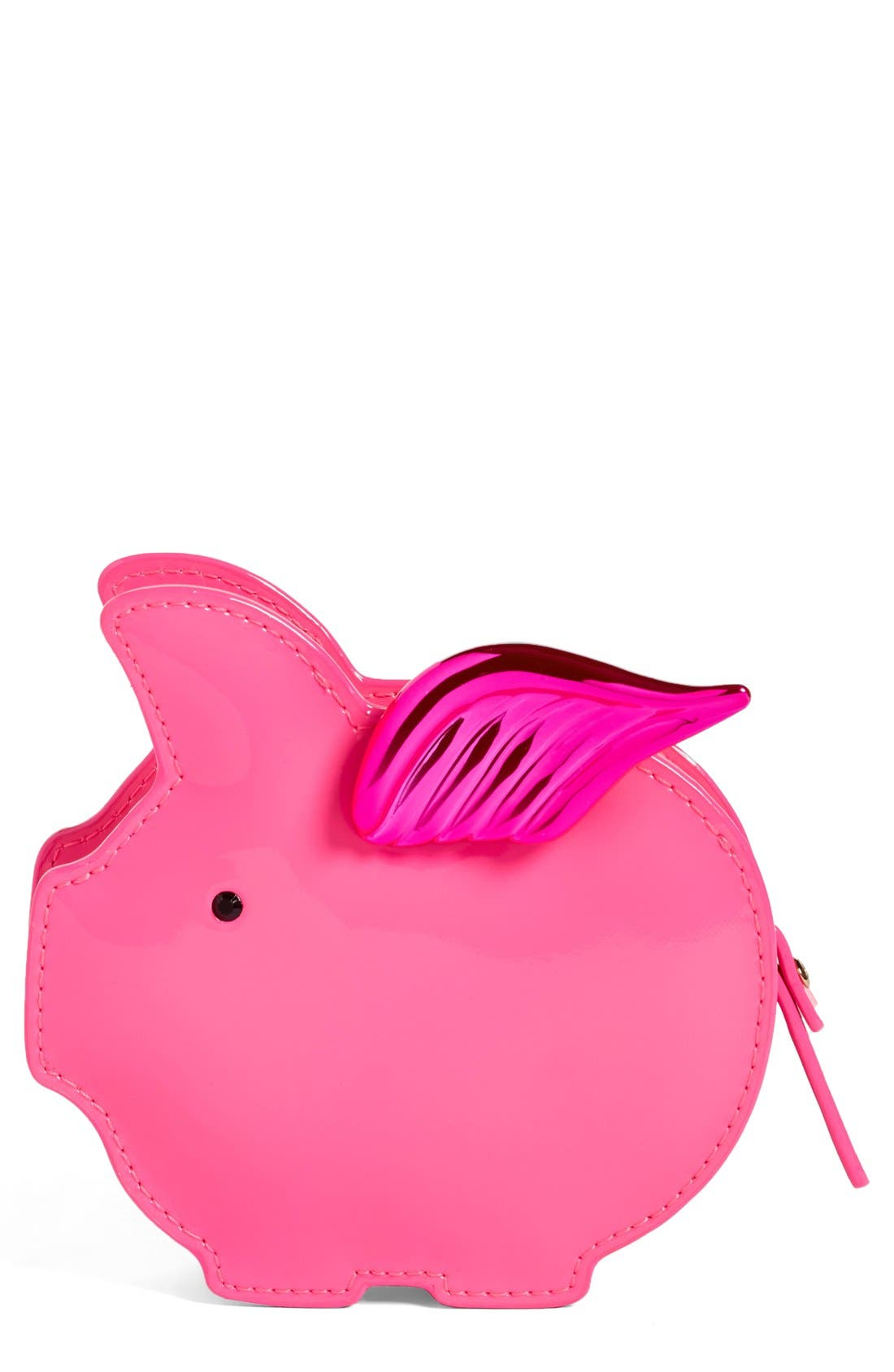 Alternate Image 1 Selected - kate spade new york flying pig coin purse