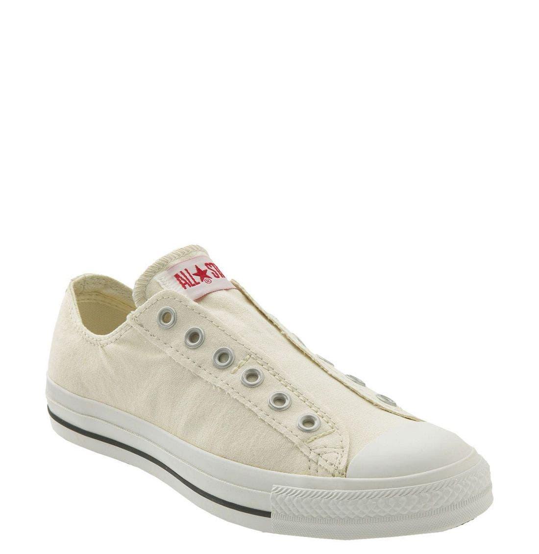 Alternate Image 1 Selected - Converse Chuck Taylor® Low Slip-On Sneaker (Women)