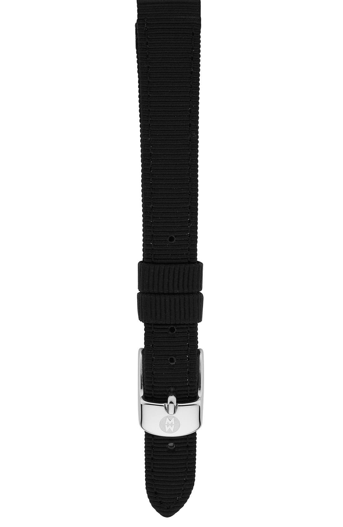 Main Image - MICHELE 12mm Grosgrain Watch Strap