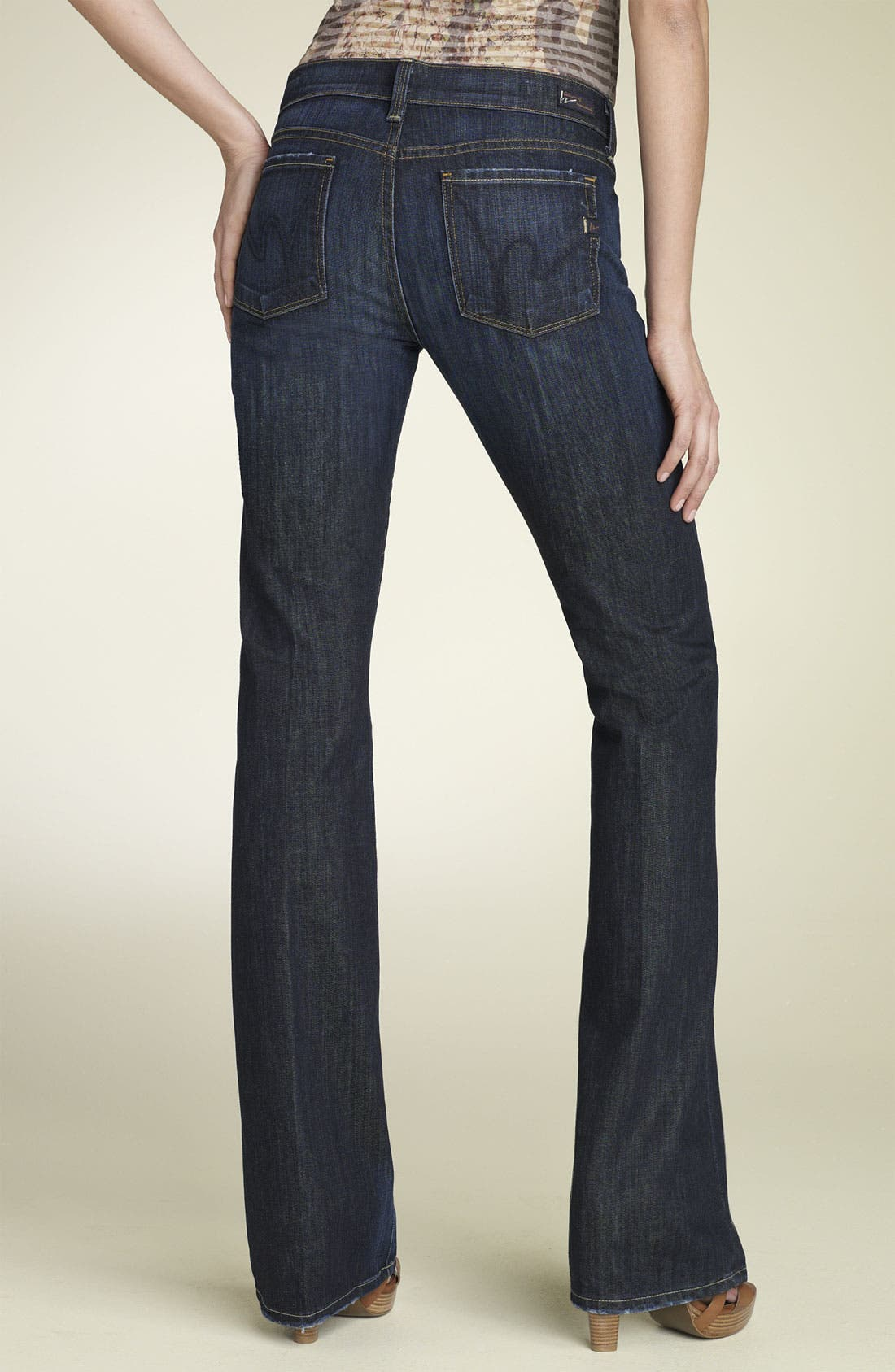 Alternate Image 4  - Citizens of Humanity 'Kelly' Bootcut Stretch Jeans (New Pacific)