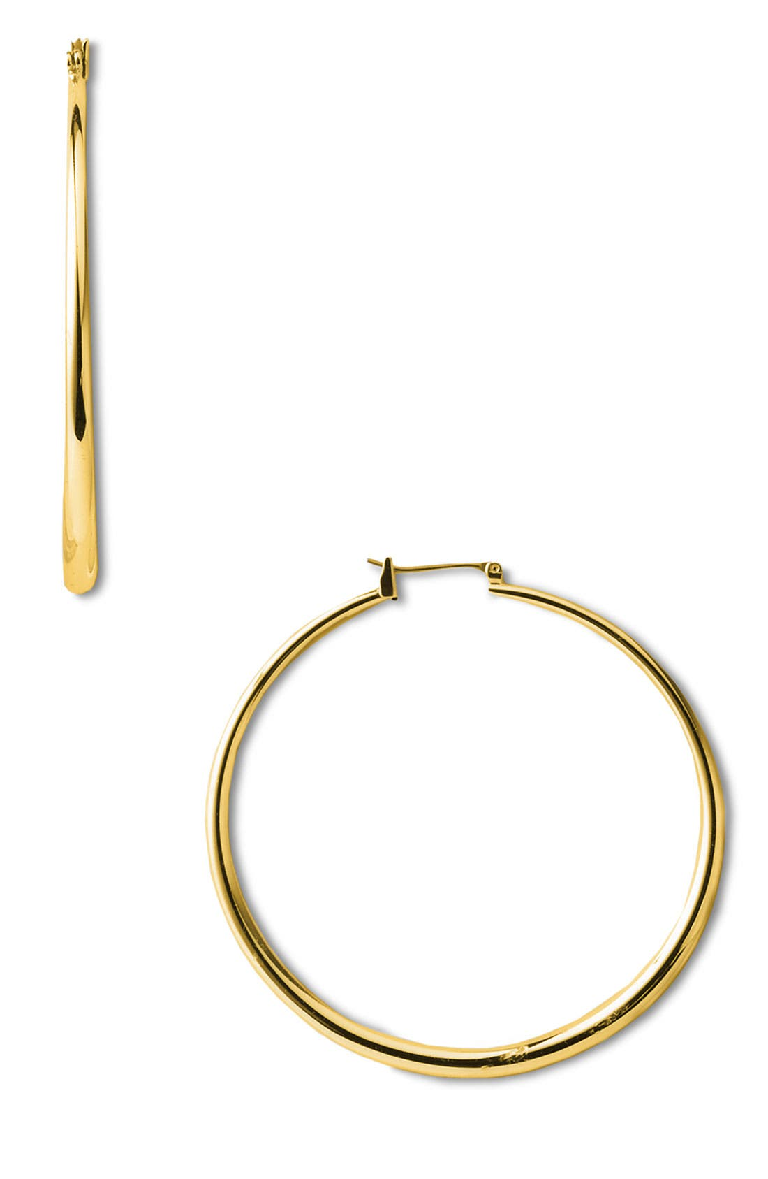 Alternate Image 1 Selected - Nordstrom Thick Medium Hoop Earrings