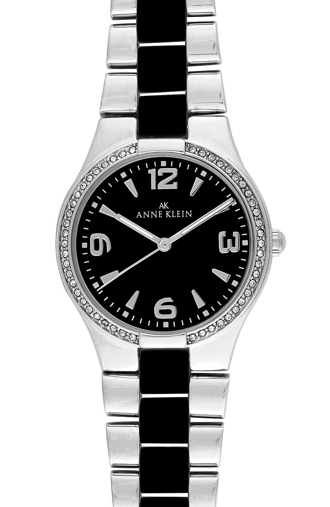 Alternate Image 1 Selected - Anne Klein Ceramic Bracelet Watch
