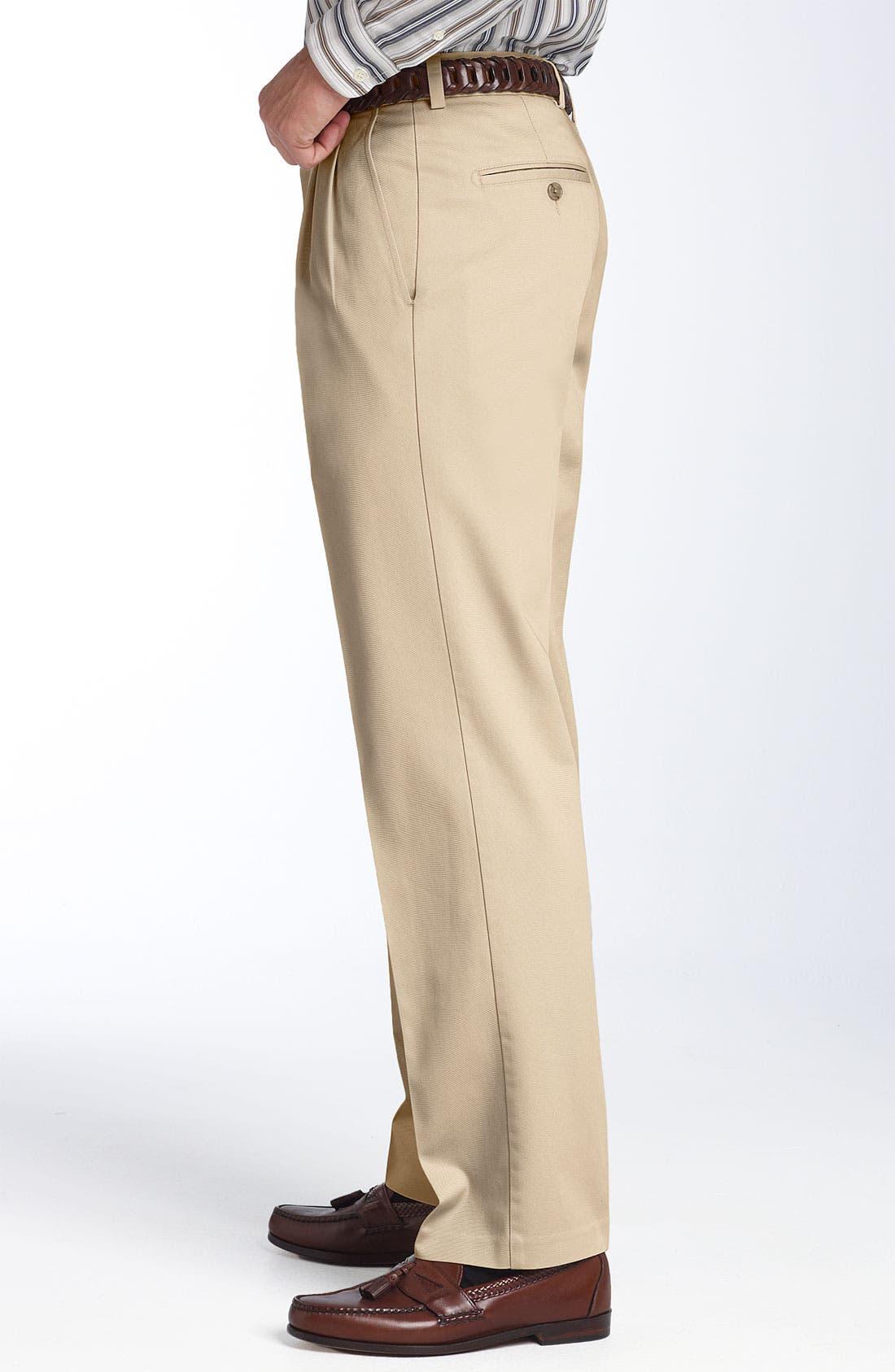 Alternate Image 2  - Nordstrom Smartcare™ Double Pleated Pants