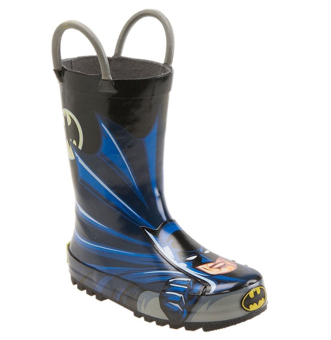 Main Image - Western Chief 'Batman' Rain Boot (Walker, Toddler, Little Kid & Big Kid)