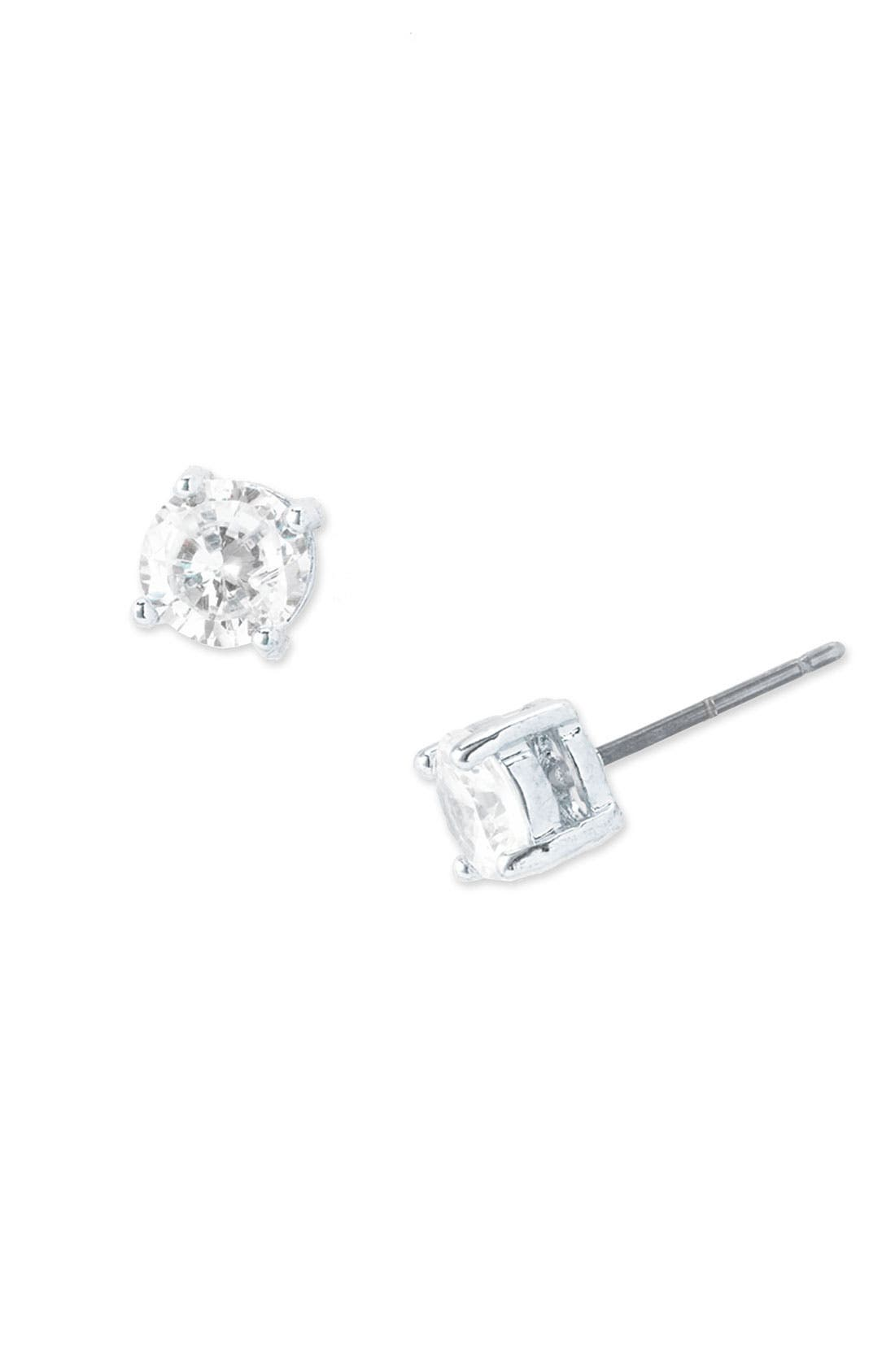 Alternate Image 1 Selected - BP. Cubic Zirconia Stud Earrings