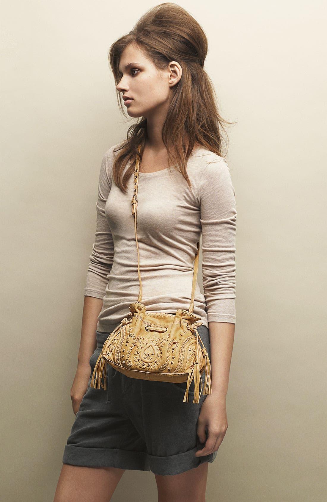 Alternate Image 2  - Junior Drake 'Mini' Embroidered Drawstring Crossbody Bag