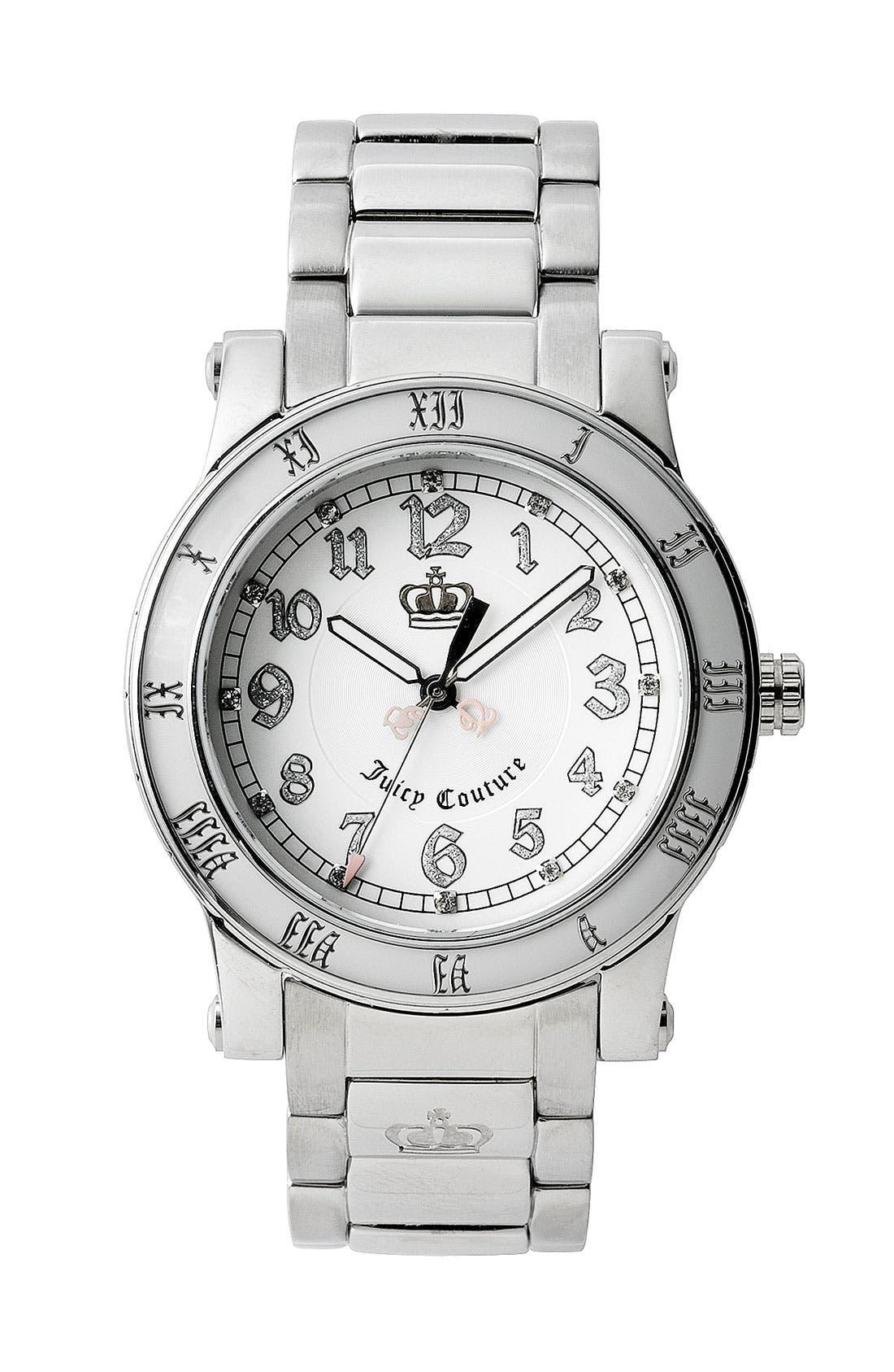 Main Image - Juicy Couture 'HRH' Bracelet Watch