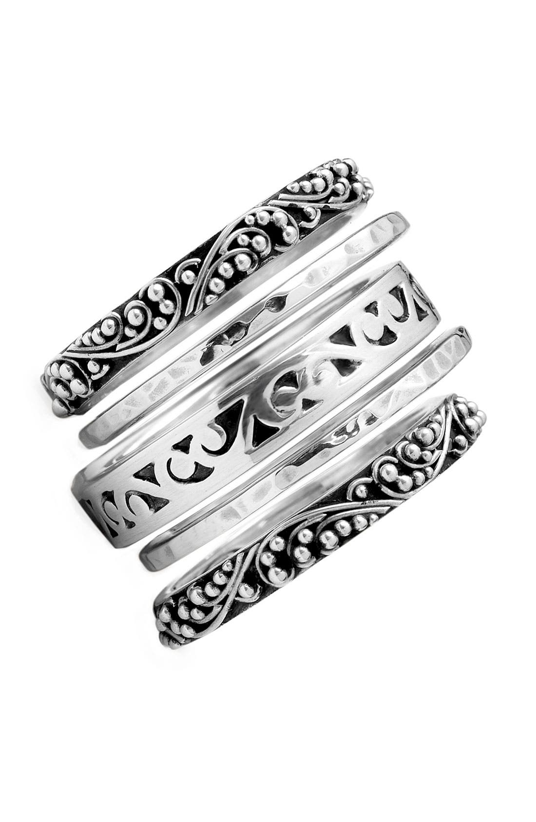 lois hill five stack ring set