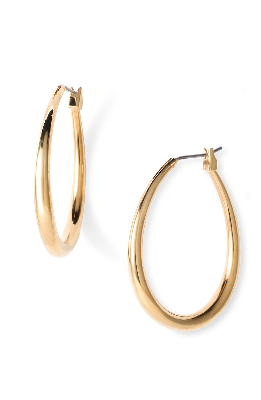 Alternate Image 1 Selected - Lauren by Ralph Lauren Teardrop Hoop Earrings