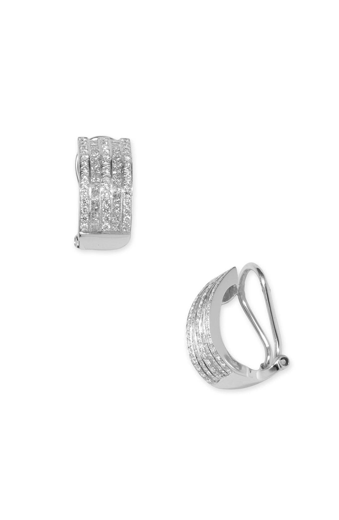 Alternate Image 1 Selected - Bony Levy Five Row Diamond Earrings (Nordstrom Exclusive)