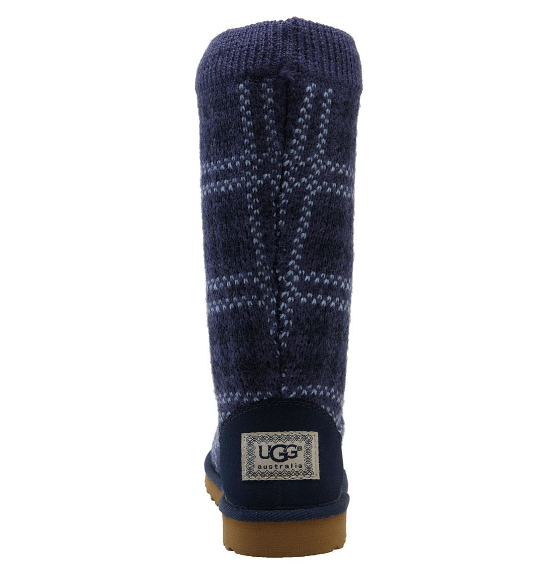 Alternate Image 4  - UGG® Australia Plaid Knit Boot (Toddler, Little Kid & Big Kid)