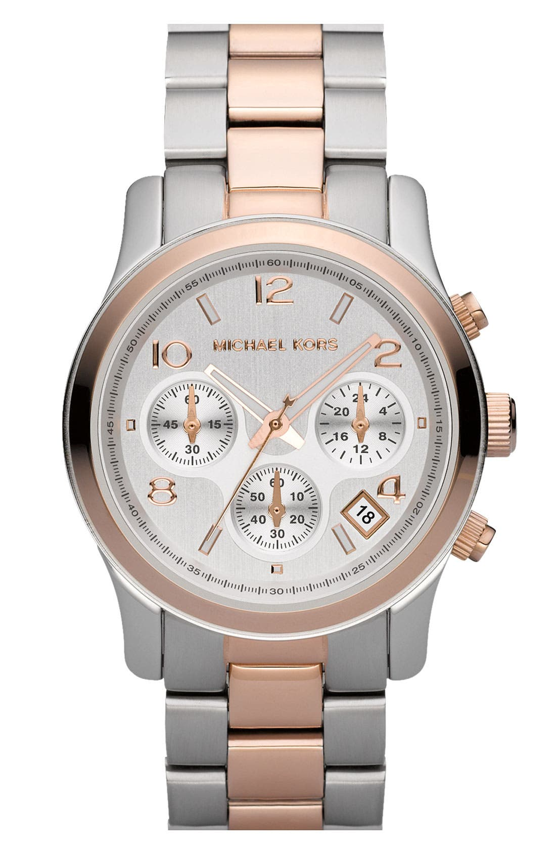 Main Image - Michael Kors 'Runway' Chronograph Watch