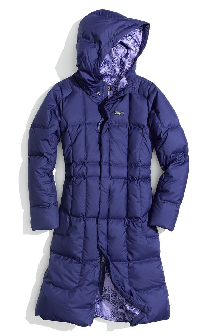 Patagonia Long Quilted Down Coat Big Girls Nordstrom