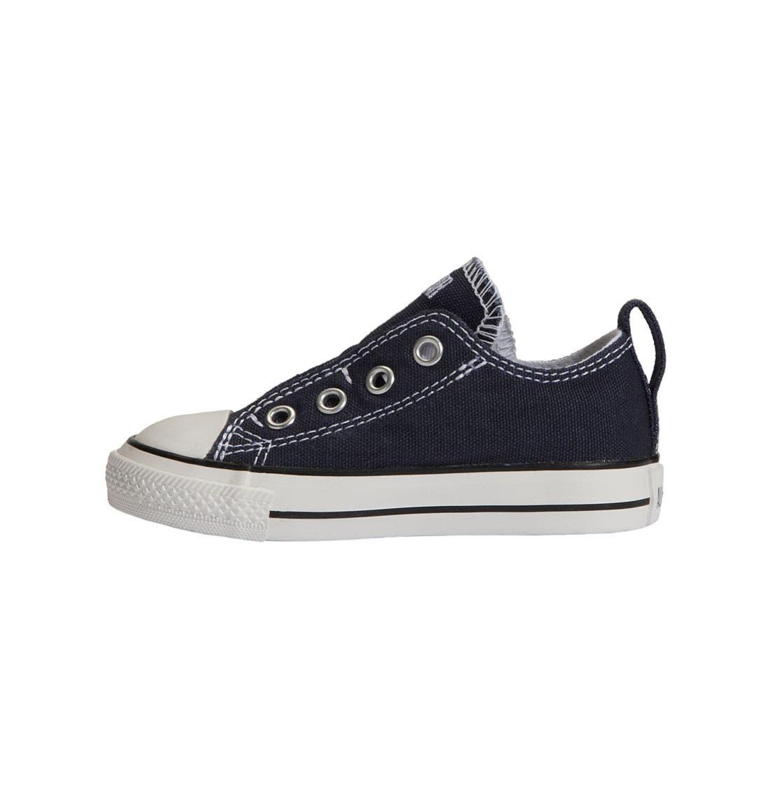 Alternate Image 2  - Converse Chuck Taylor® Slip-On Sneaker (Baby, Walker & Toddler)
