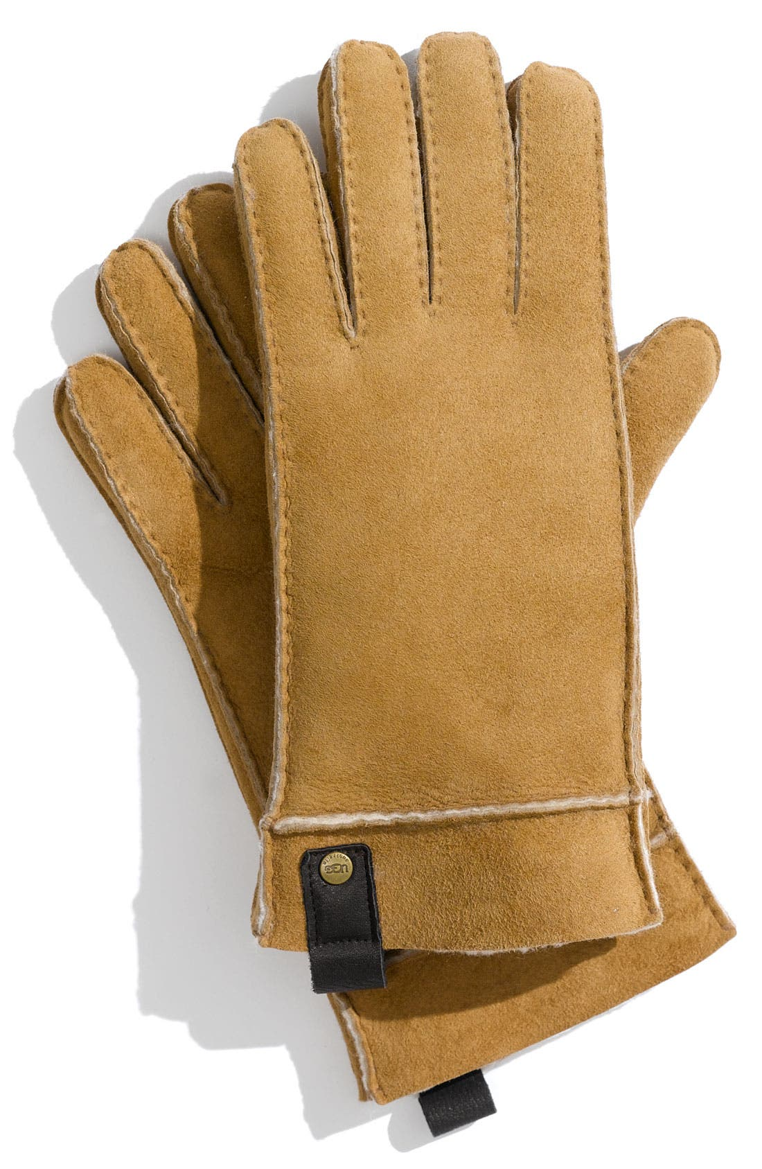 Alternate Image 1 Selected - UGG® Genuine Shearling Gloves