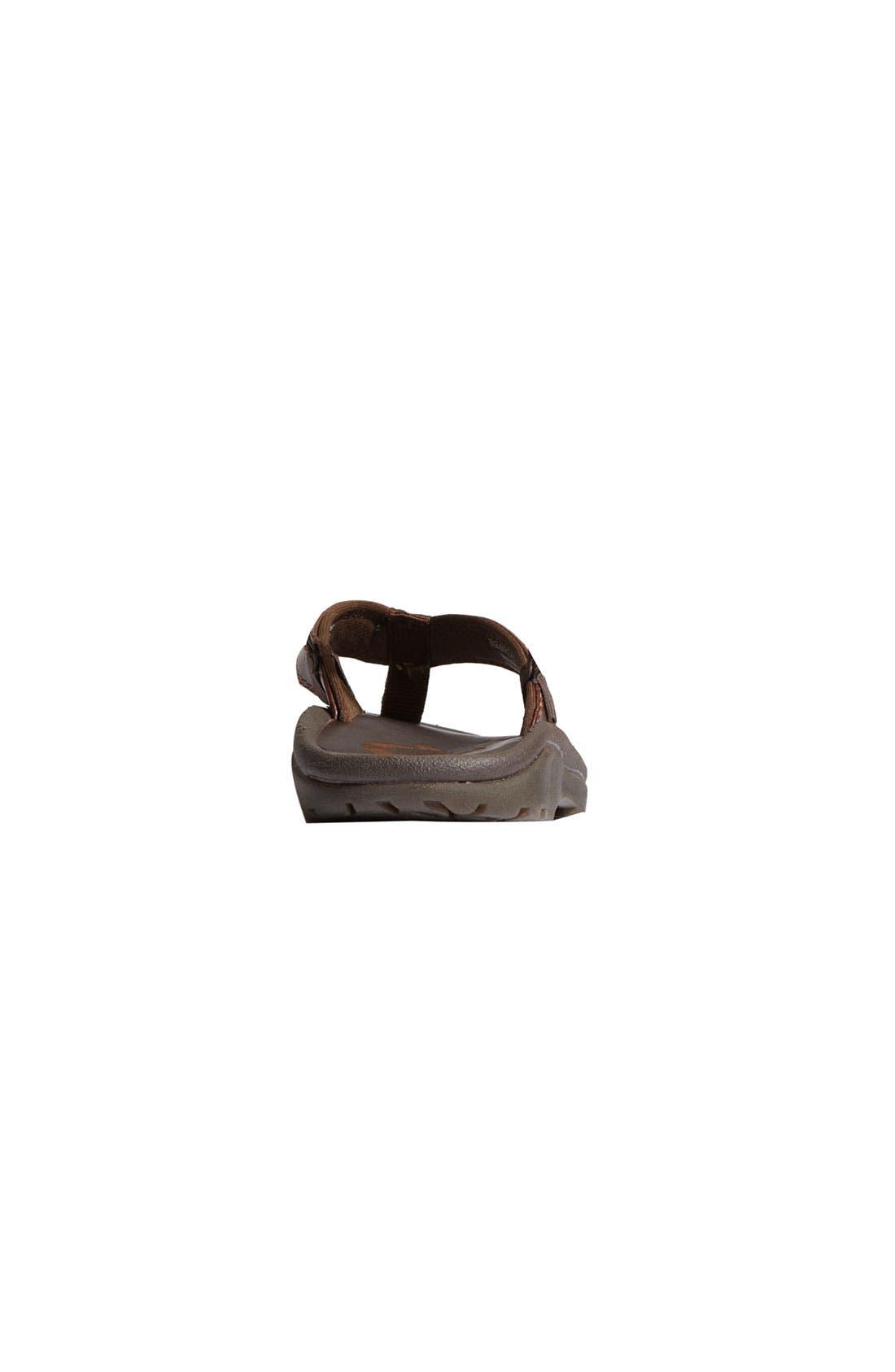 Alternate Image 4  - OluKai 'Ohana' Leather Sandal (Toddler, Little Kid & Big Kid)