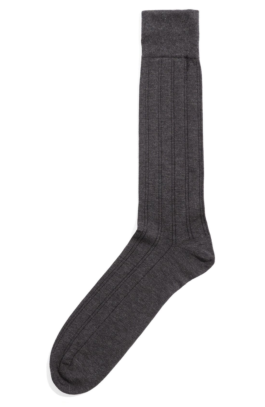 Alternate Image 1 Selected - Calibrate Pattern Dress Socks