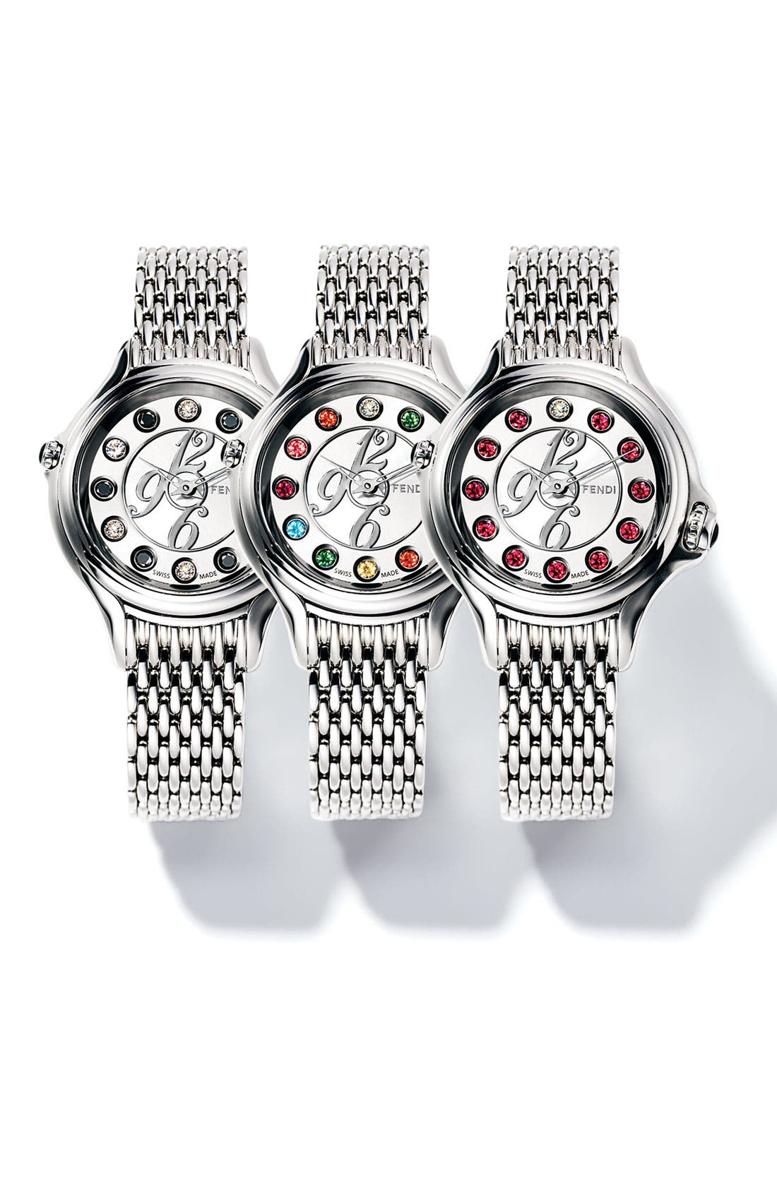 Alternate Image 4  - Fendi 'Crazy Carats' Bracelet Watch, 38mm