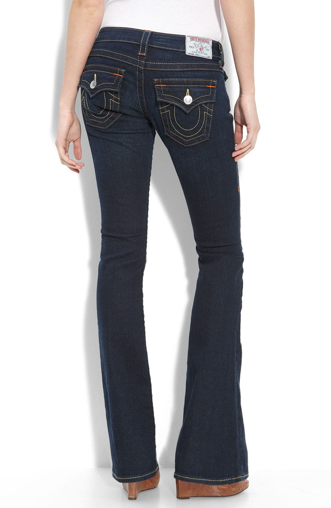 True Religion Brand Jeans 'Tony' Lean Bootcut Stretch Jeans ...