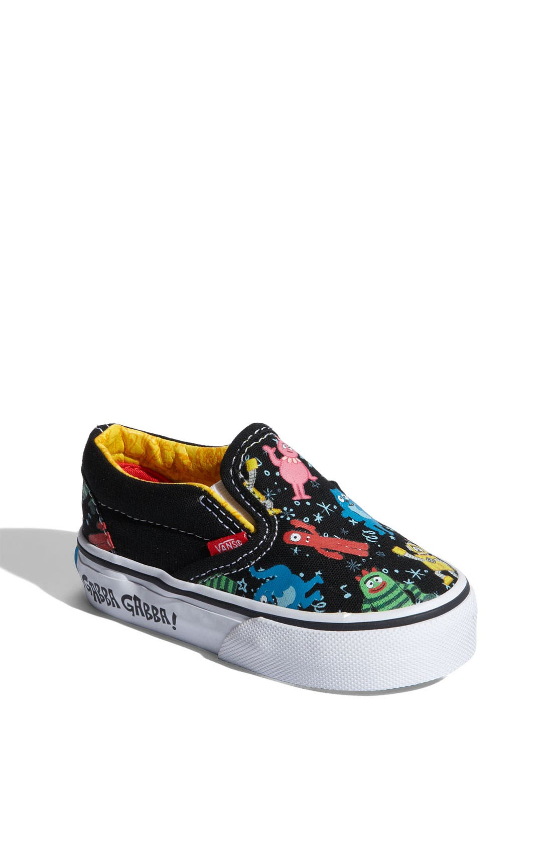 Main Image - Vans 'Classic' Print Slip-On (Walker, Toddler & Little Kid)