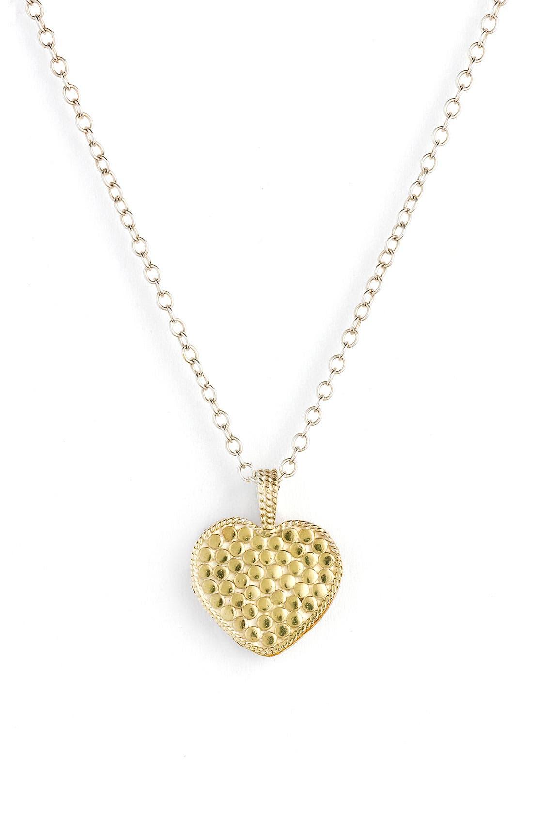 Main Image - Anna Beck 'Gili' Reversible Heart Pendant Necklace