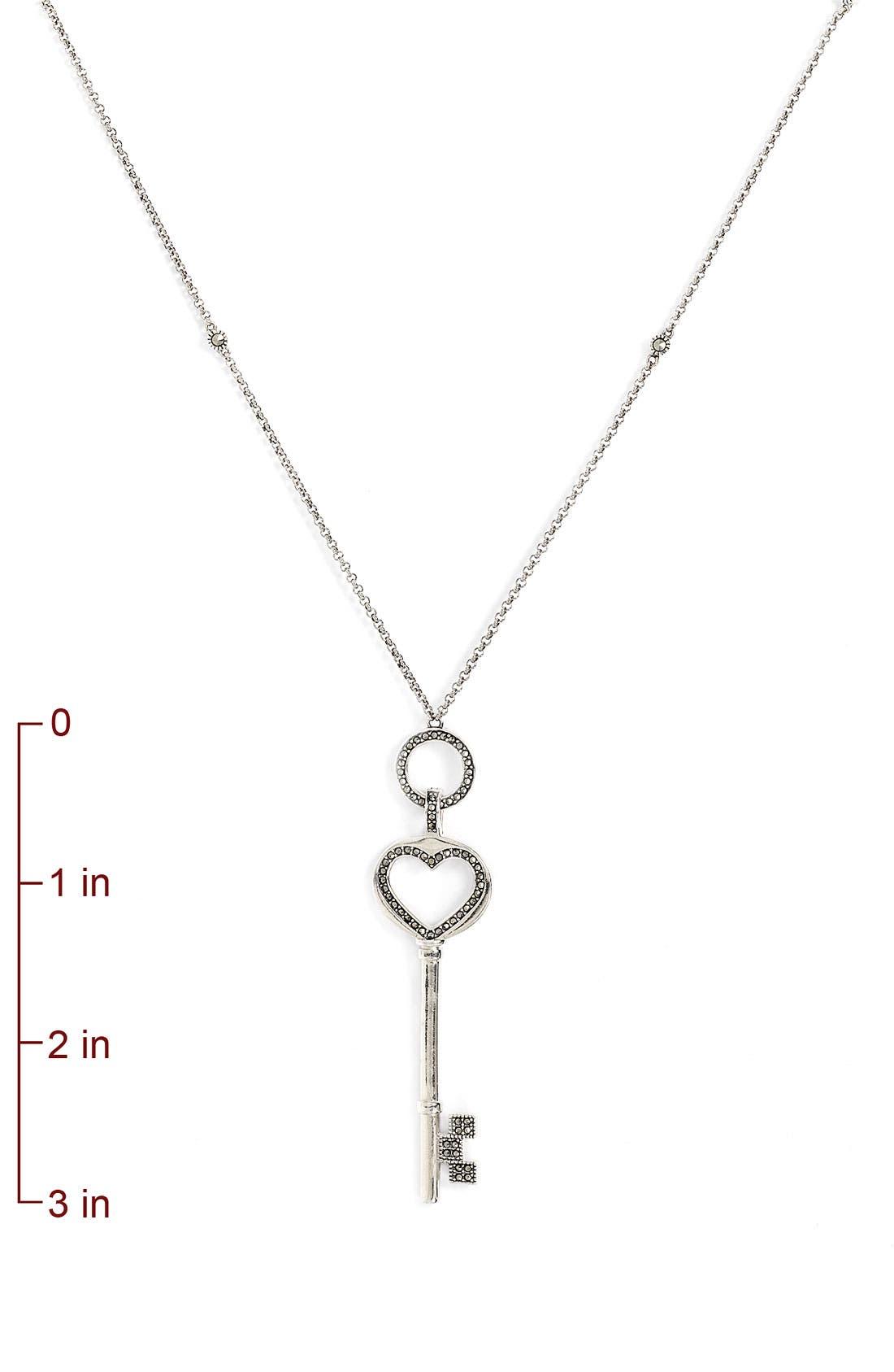 Alternate Image 2  - Judith Jack Key Convertible Necklace