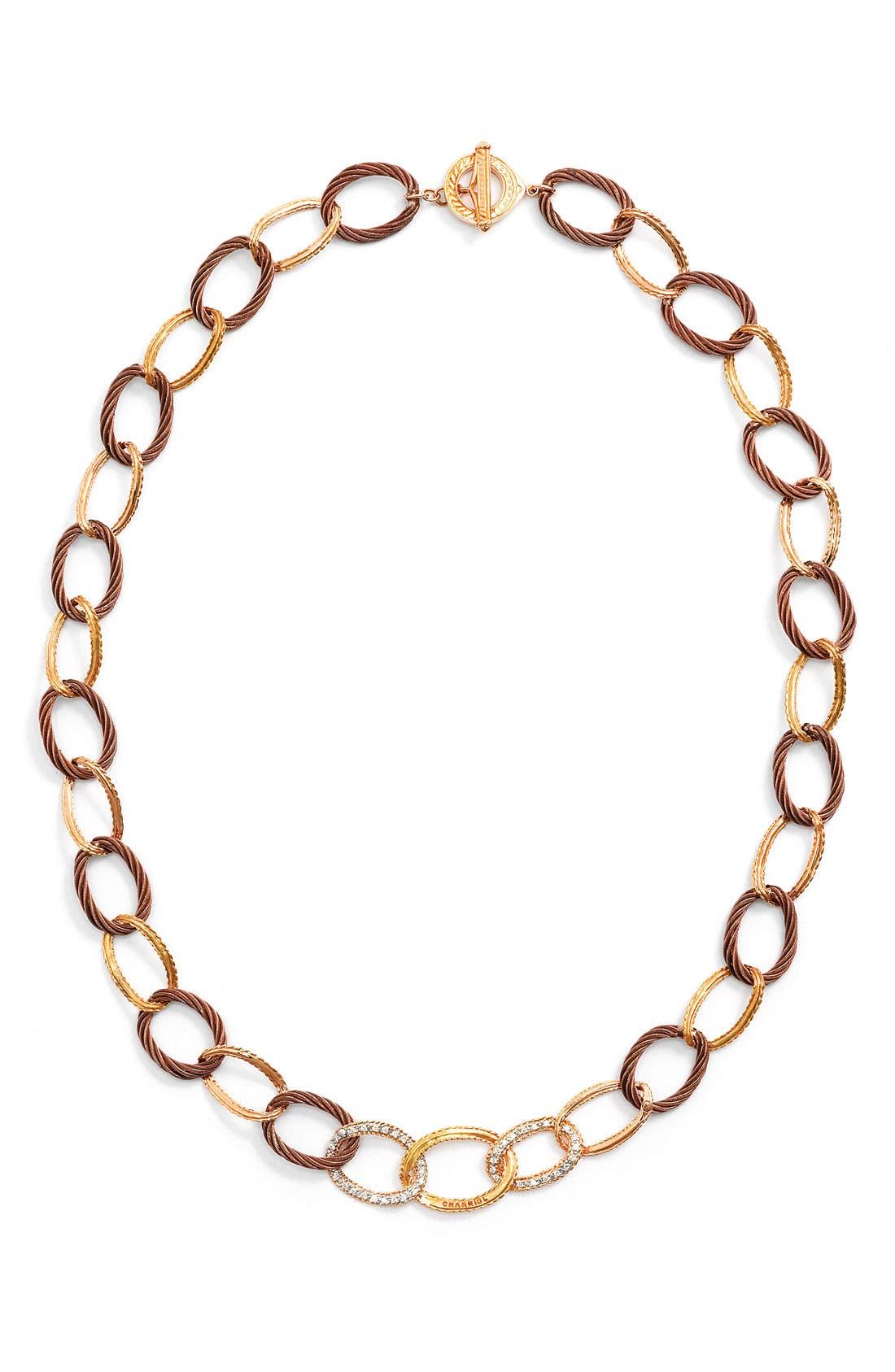 Main Image - ALOR® Gold, Diamond & Bronze Necklace