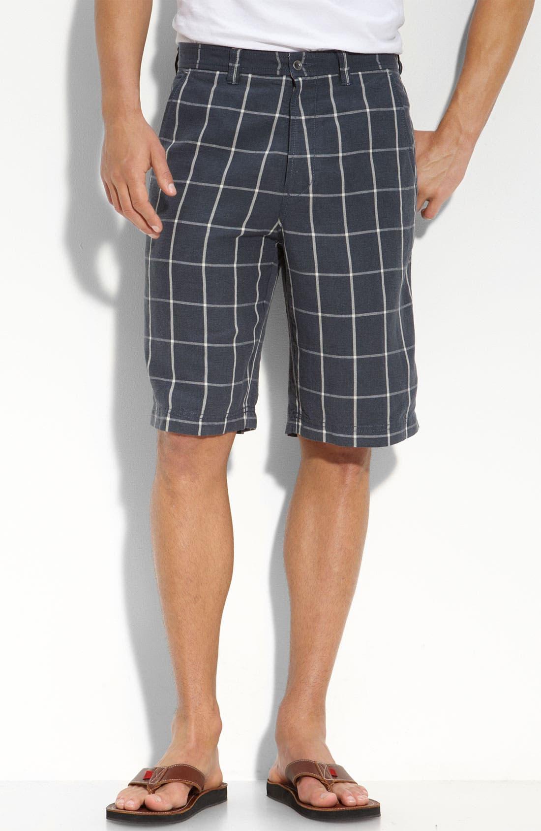 Alternate Image 1 Selected - Tommy Bahama 'Windsurf Windowpane' Shorts