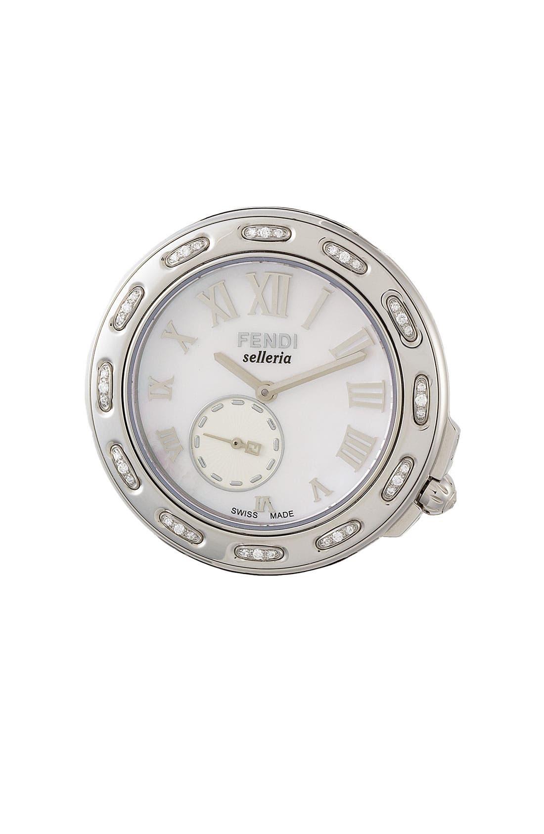 Main Image - Fendi 'Selleria' Diamond Watch Case