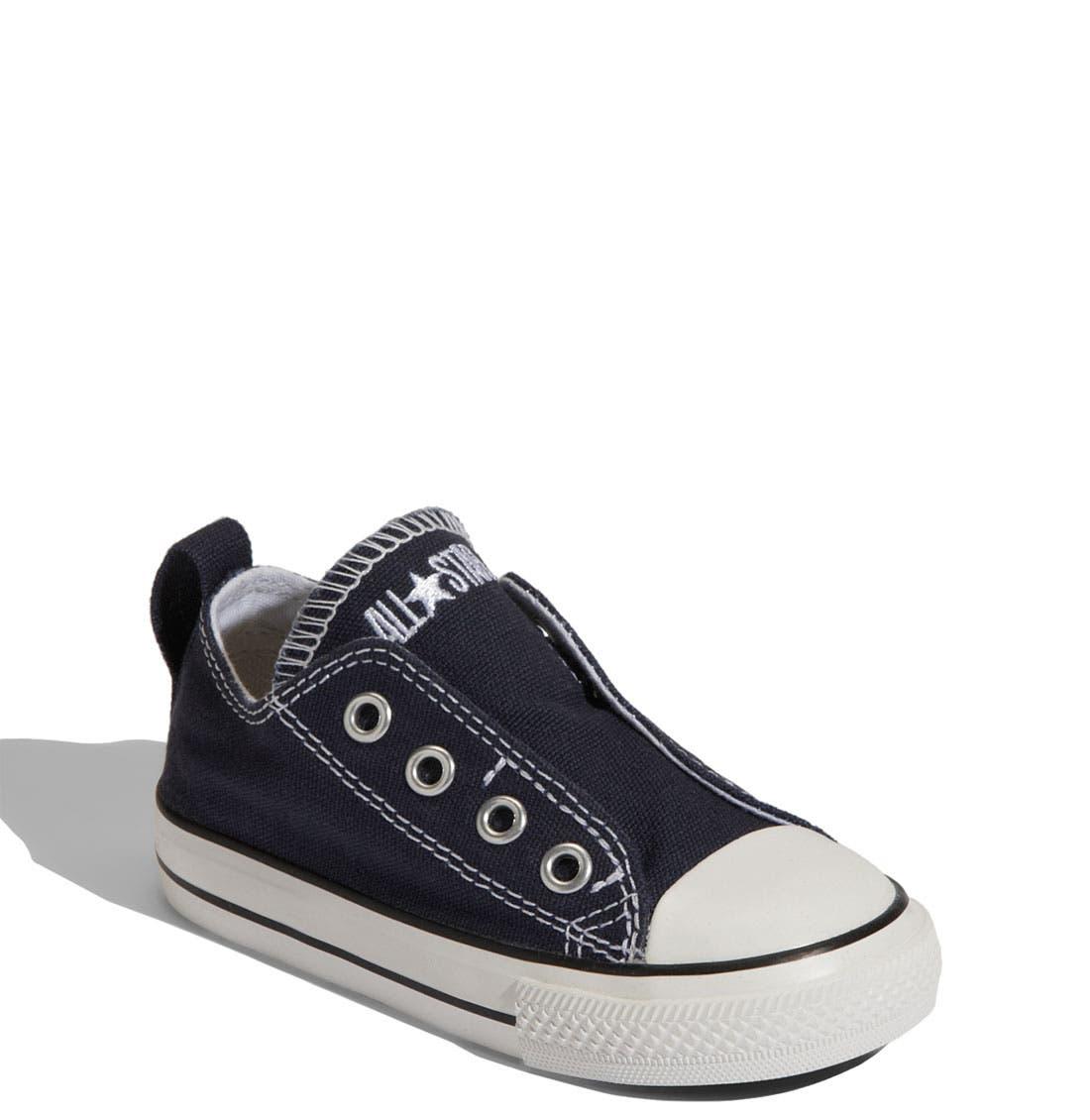 Alternate Image 1 Selected - Converse Chuck Taylor® Slip-On Sneaker (Baby, Walker & Toddler)
