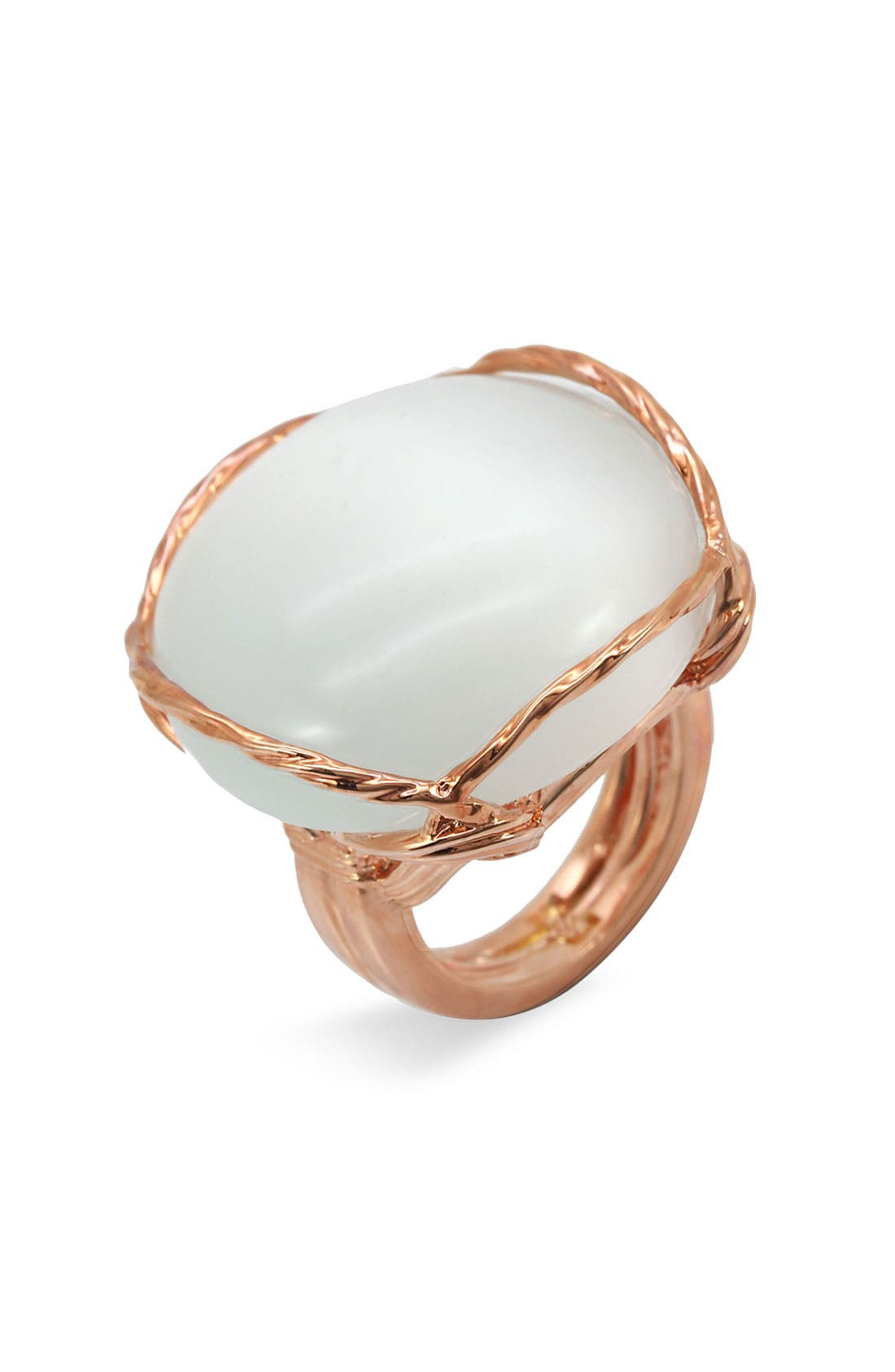 Main Image - Ariella Collection Round Cat's Eye Ring
