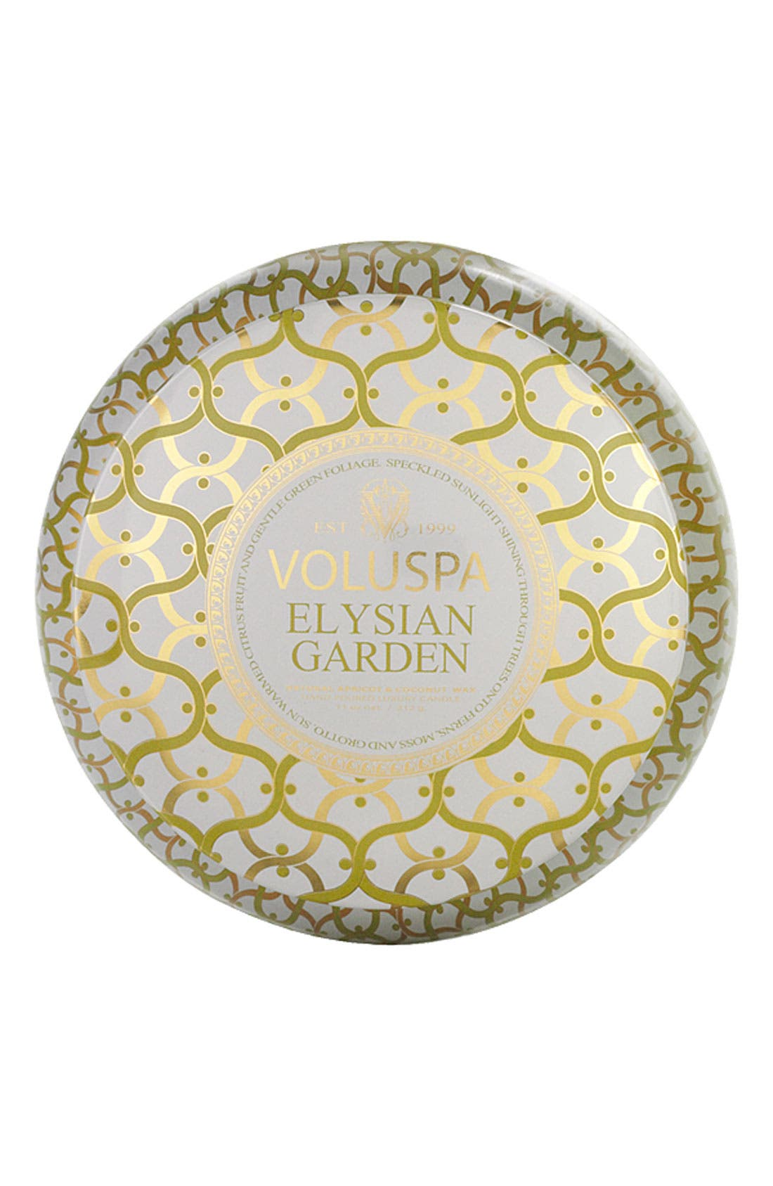 Alternate Image 2  - Voluspa 'Maison Blanc - Elysian Garden' 2-Wick Candle