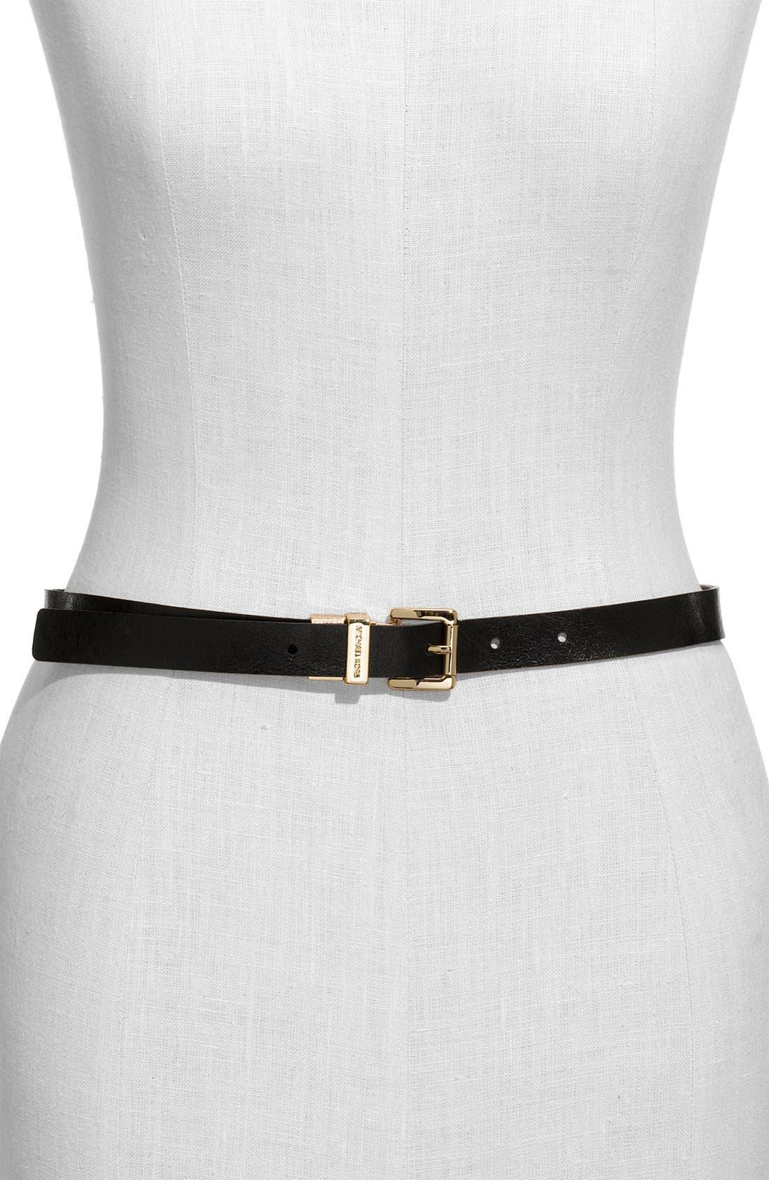 Alternate Image 2  - MICHAEL Michael Kors Reversible Leather Belt