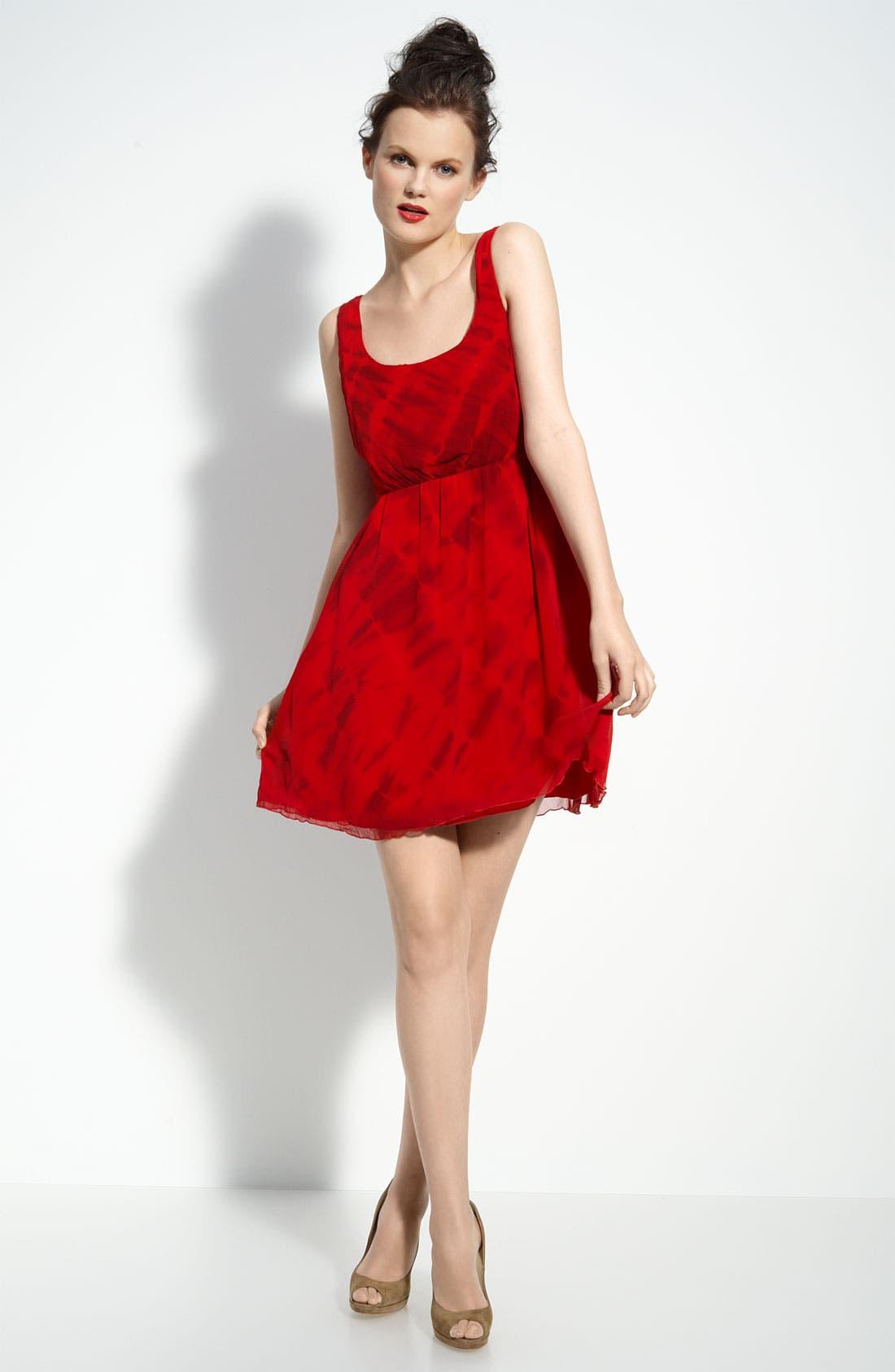 Main Image - Alice + Olivia 'Cabella' Tie Dye Tank Dress