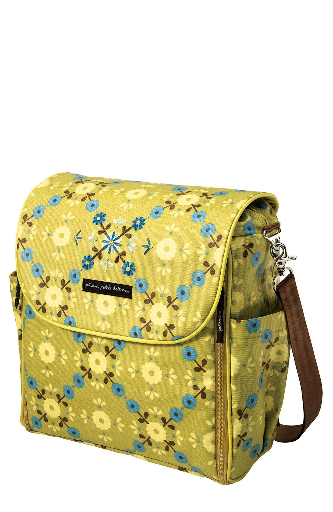 Main Image - Petunia Pickle Bottom 'Brocade' Diaper Bag