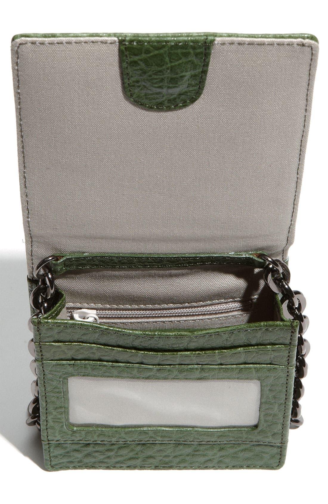 Alternate Image 3  - Nordstrom Studded Mini Leather Crossbody Bag