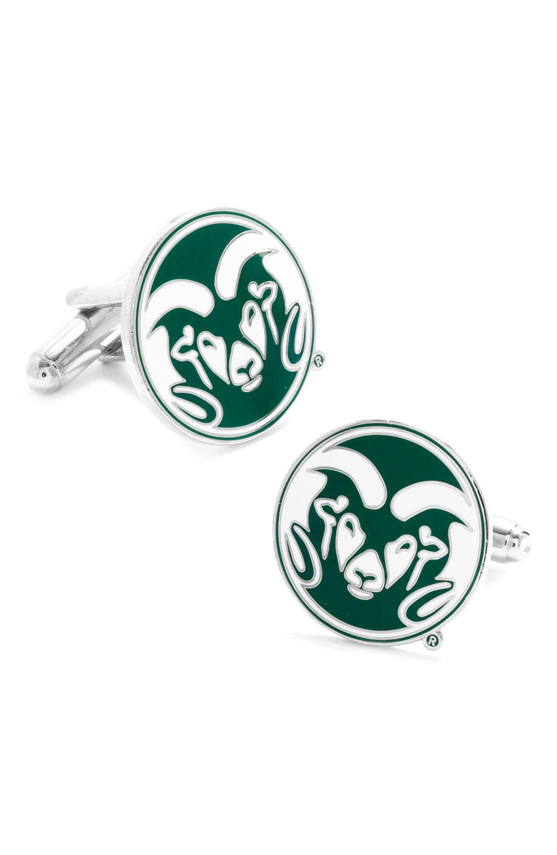 Main Image - Cufflinks, Inc. 'Colorado State Rams' Cuff Links