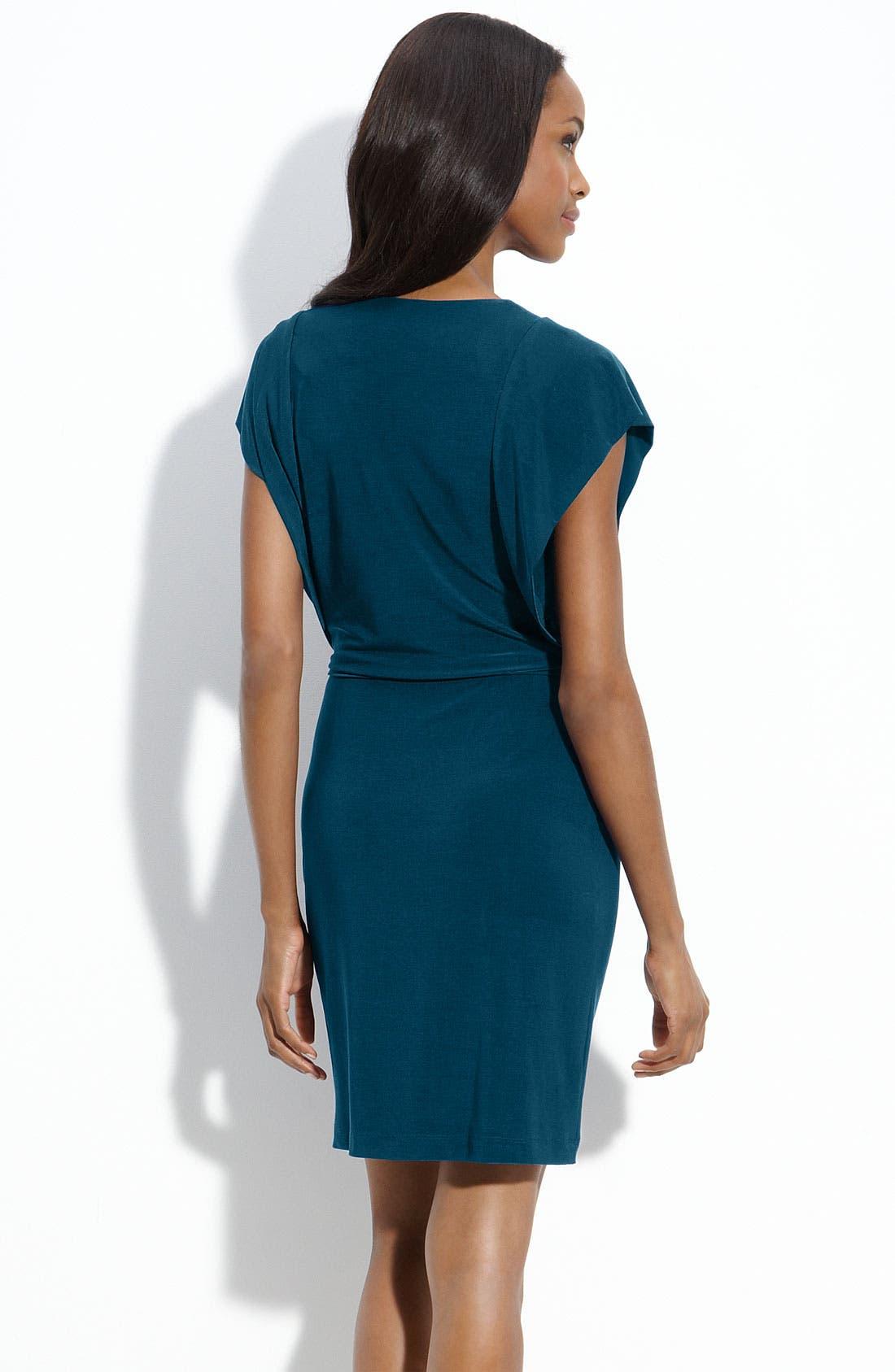 Alternate Image 2  - Alex & Ava Jersey Sheath Dress