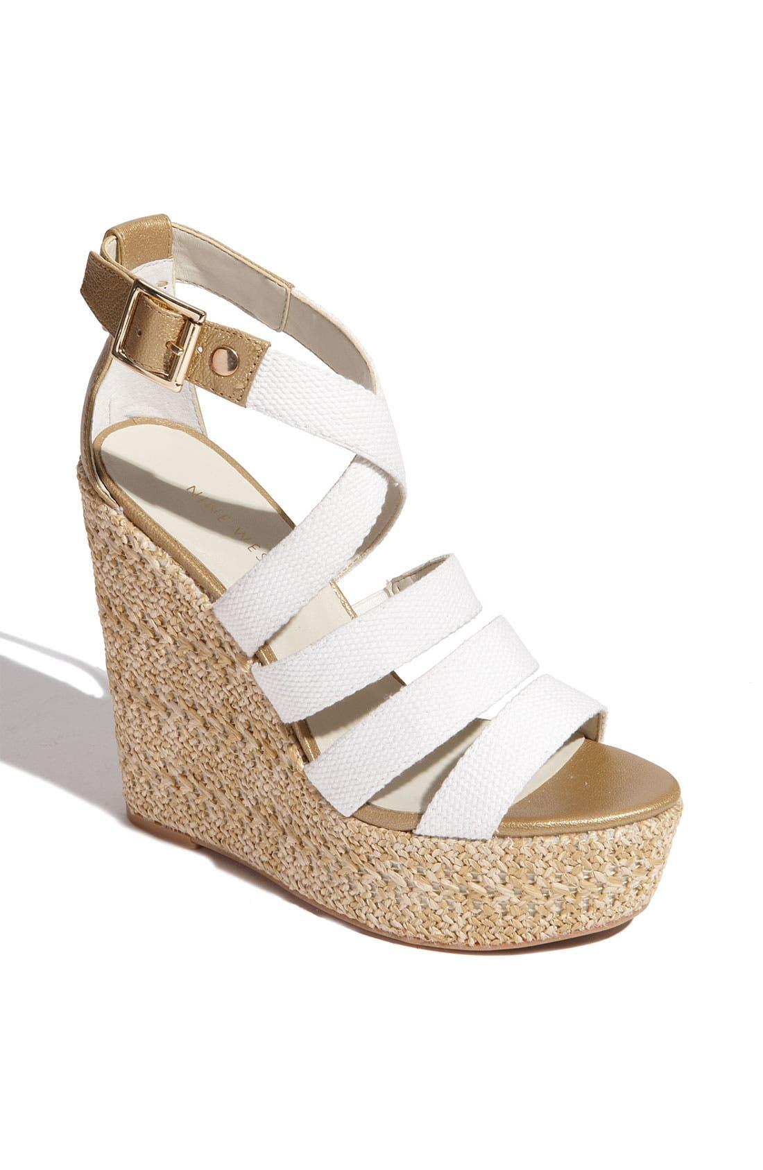 Main Image - Nine West 'Braxton' Wedge Sandal