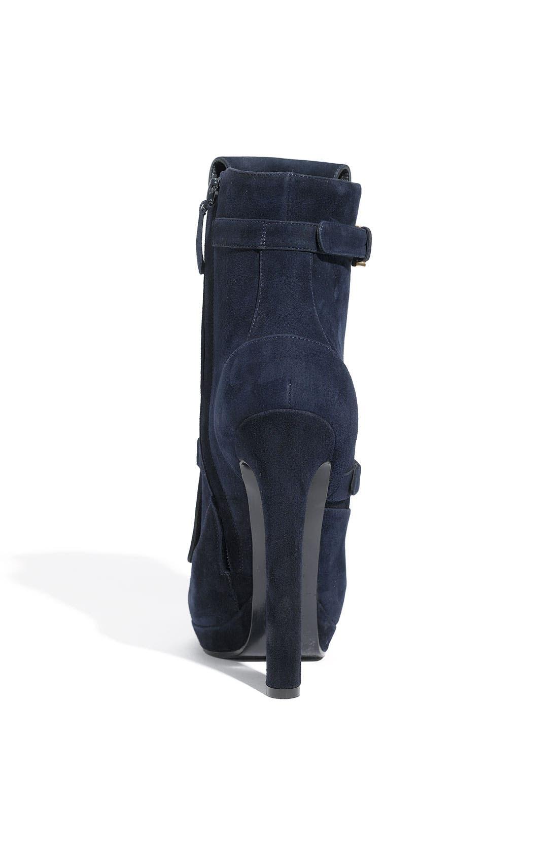 Alternate Image 3  - Alexander McQueen Buckle Strap Suede Boot