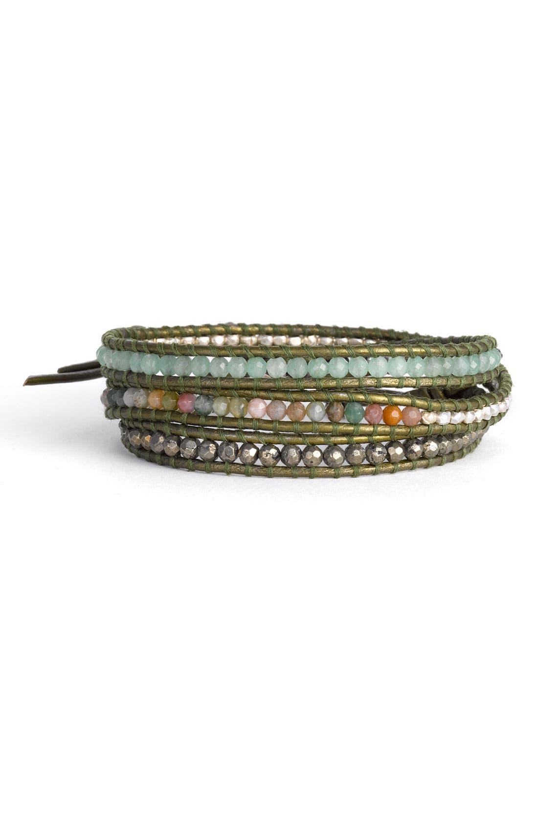 Alternate Image 1 Selected - Chan Luu Beaded Wrap Bracelet