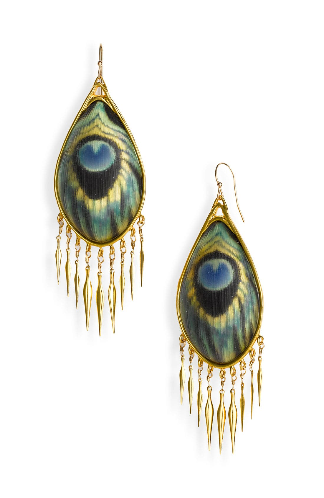 Alternate Image 1 Selected - Alexis Bittar 'Alexandria' Large Fringe Earrings