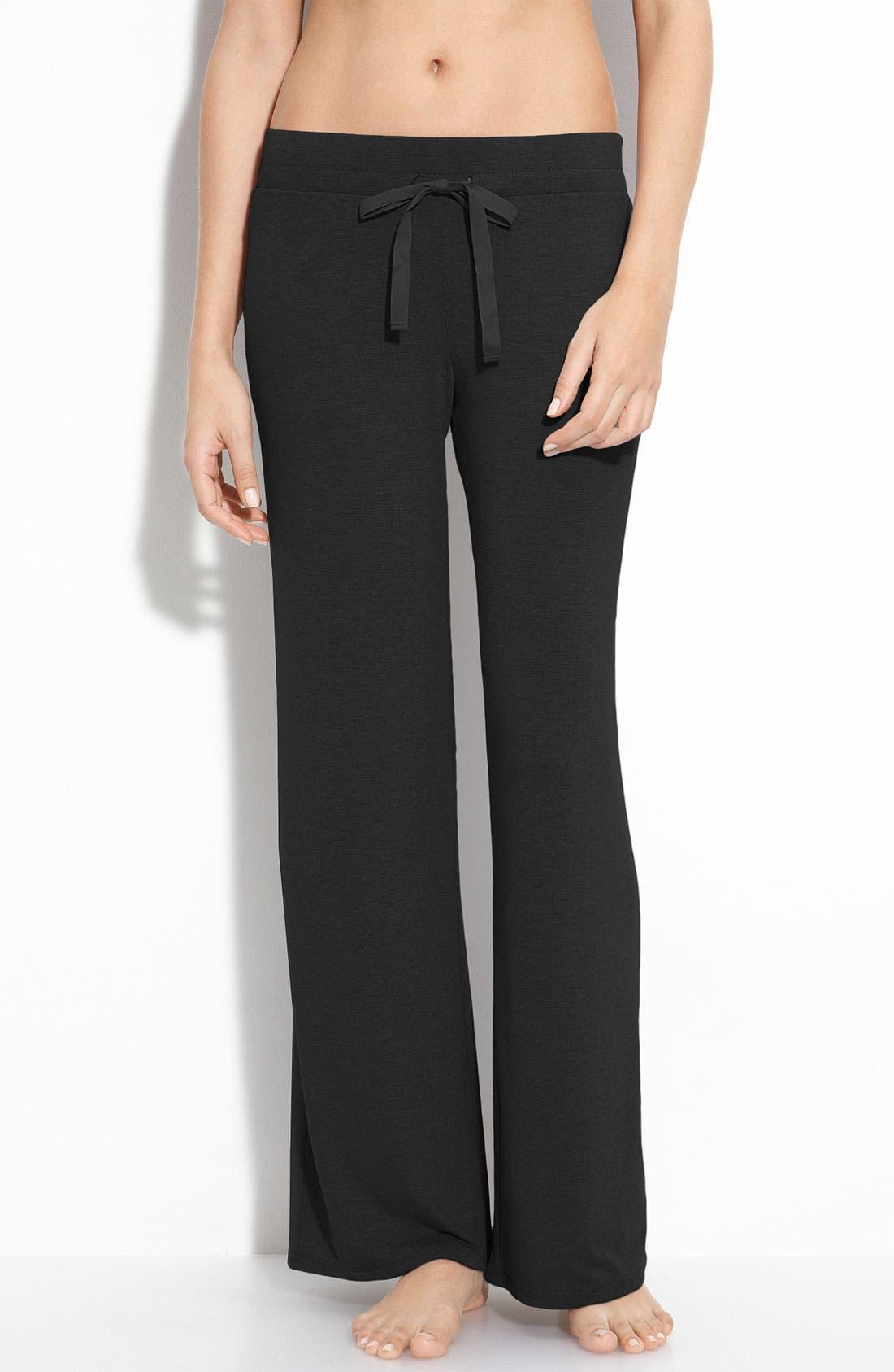 Alternate Image 1 Selected - Natori Drawstring Lounge Pants