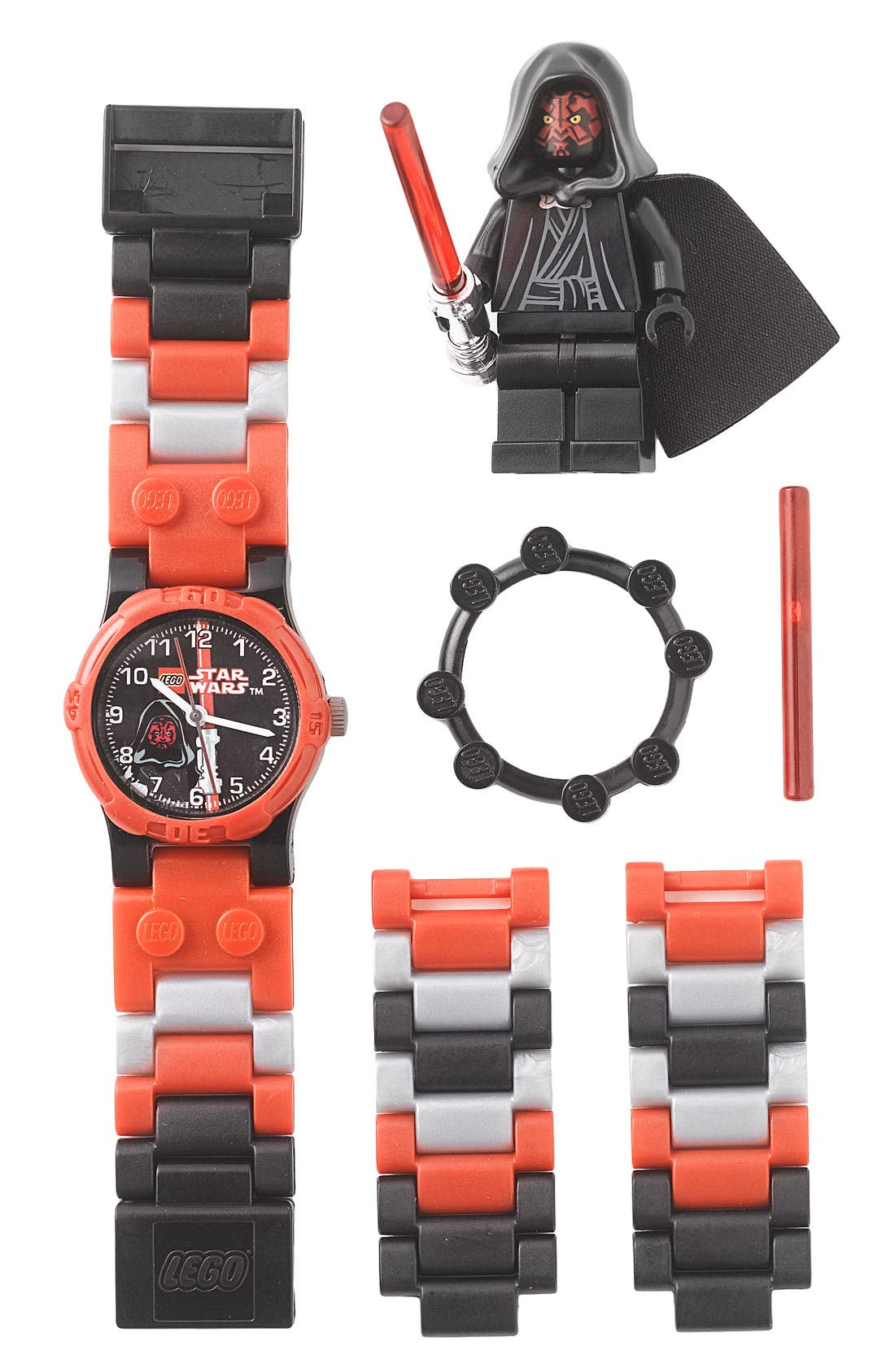 Alternate Image 1 Selected - LEGO® 'Darth Maul™' Character Watch & Toy (Boys)