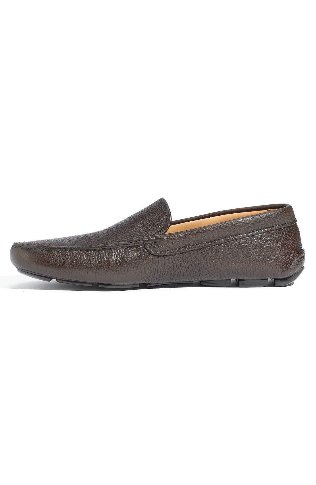Alternate Image 2  - Prada Pebbled Leather Driving Shoe (Men)