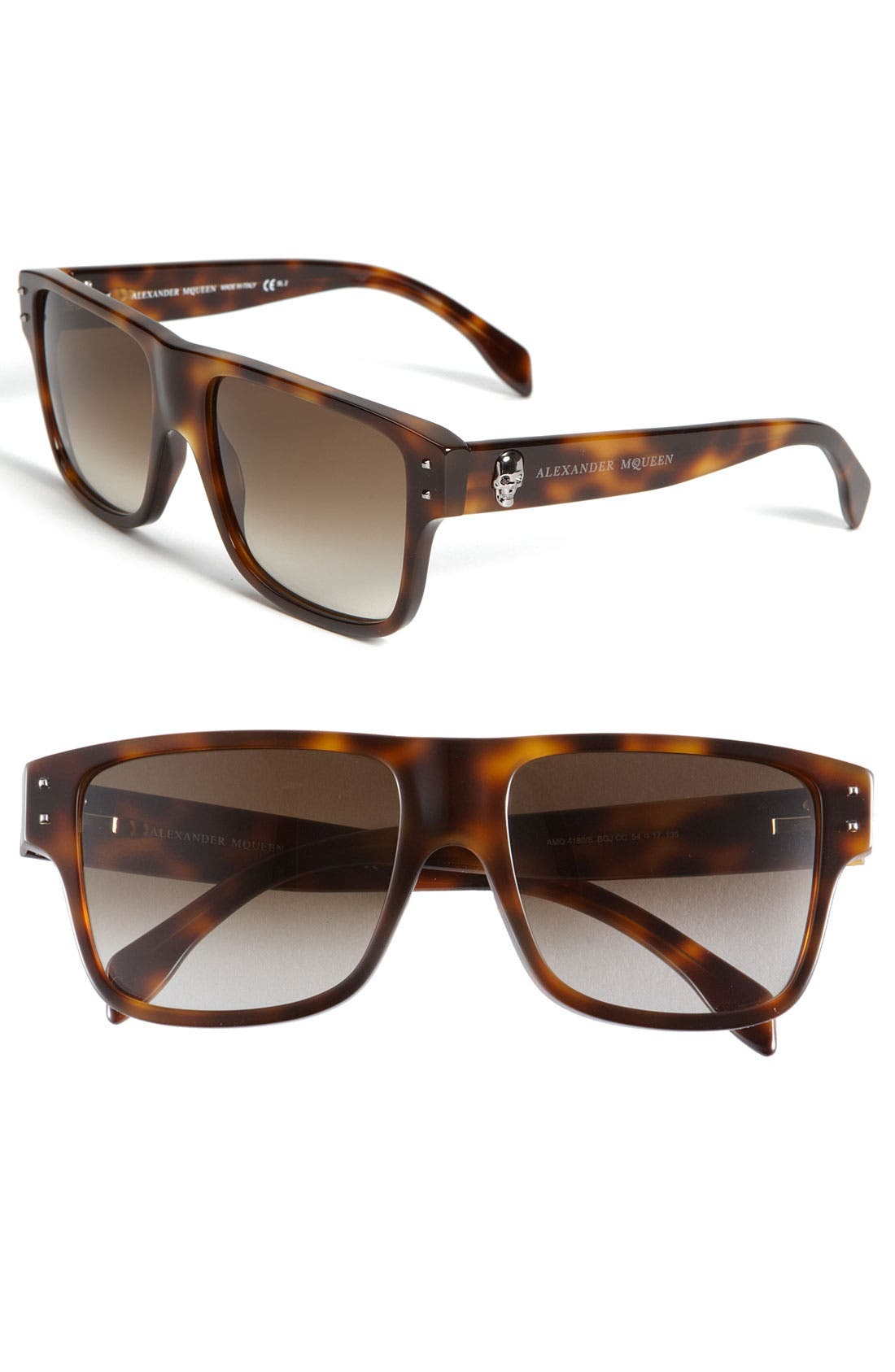 Main Image - Alexander McQueen Retro Inspired Sunglasses