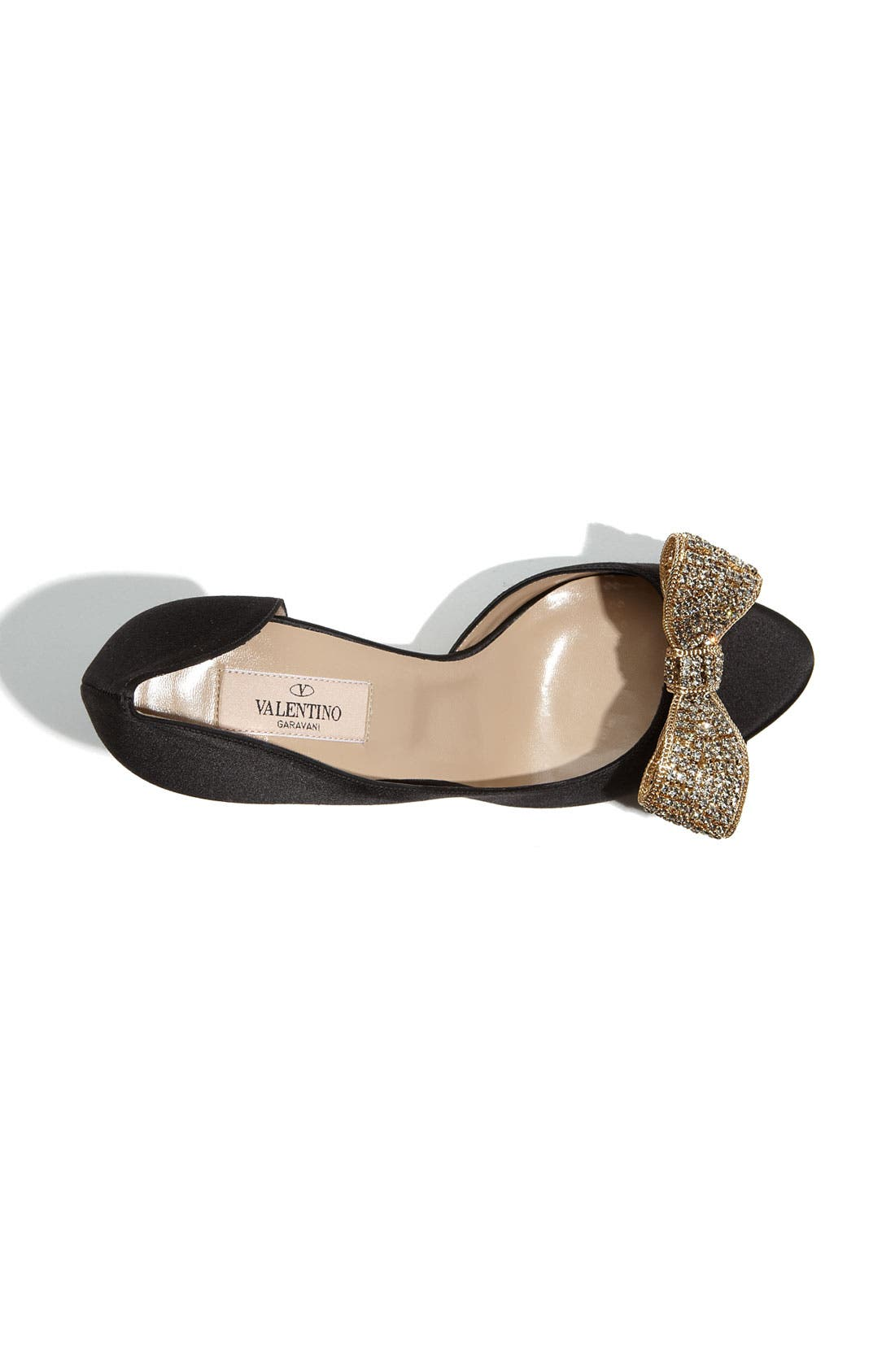 Alternate Image 3  - Valentino Jewelry Couture Bow d'Orsay Pump